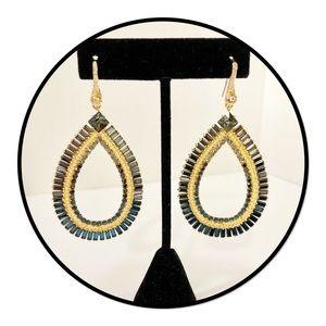 Jewelry - Teardrop Rhinestone Earrings
